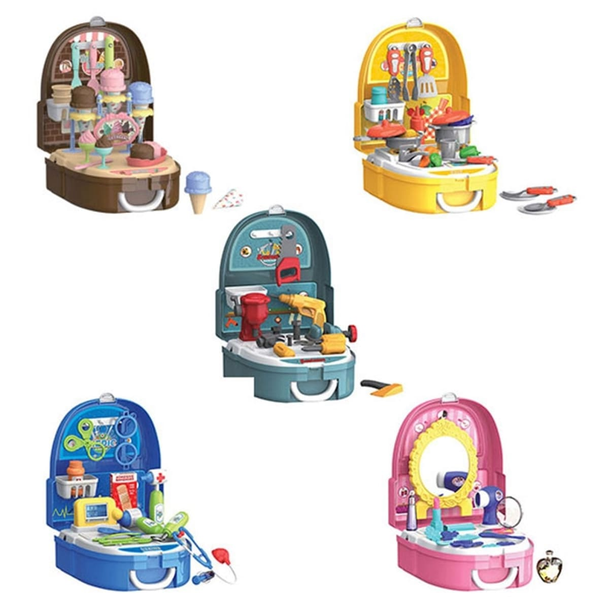 World Tech Toys Backpack Playsets | Free Shipping