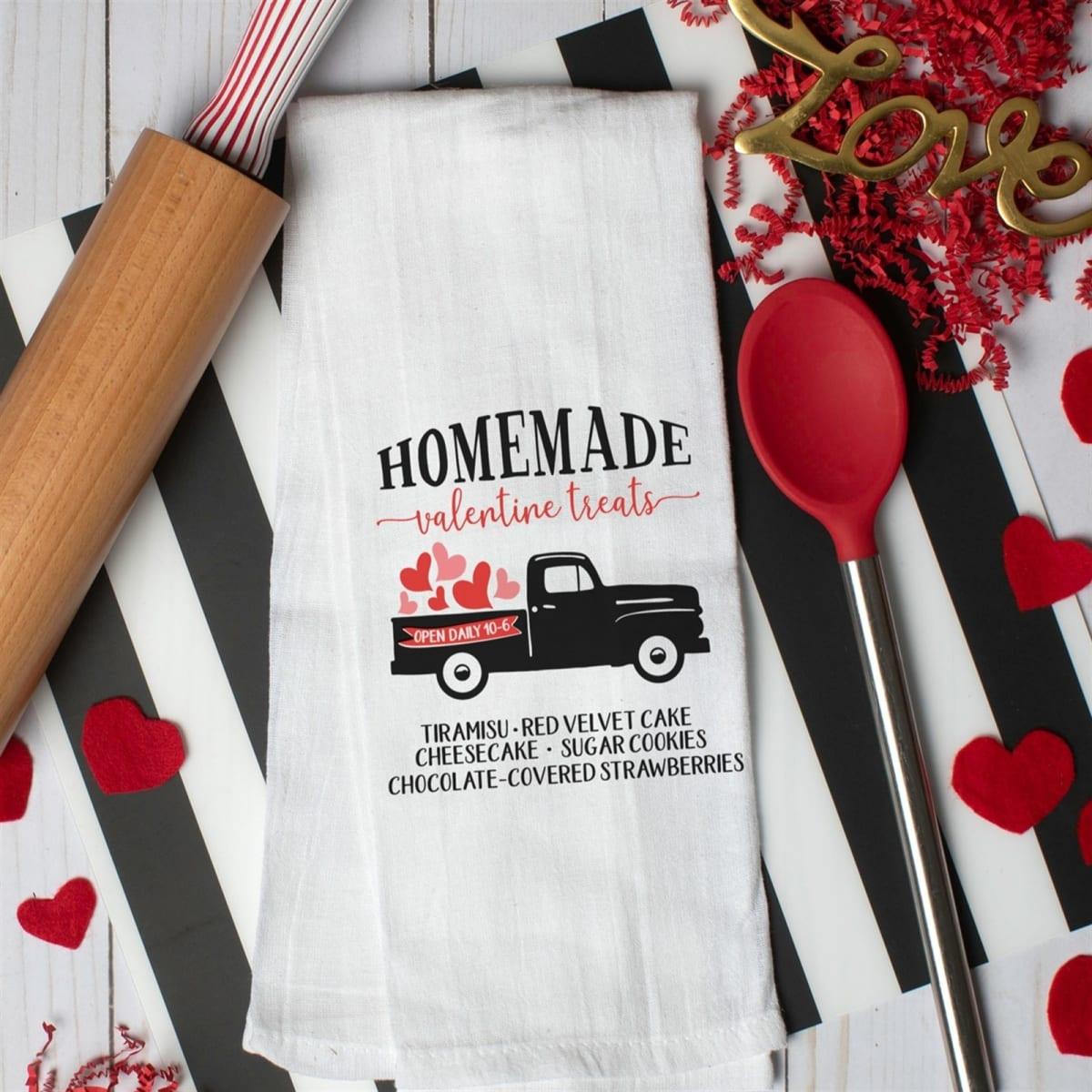 Valentine's Kitchen Towels