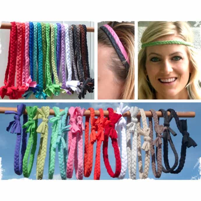Comfortable Braided Headbands - 19 Colors to Choose From!  66ca8029d14
