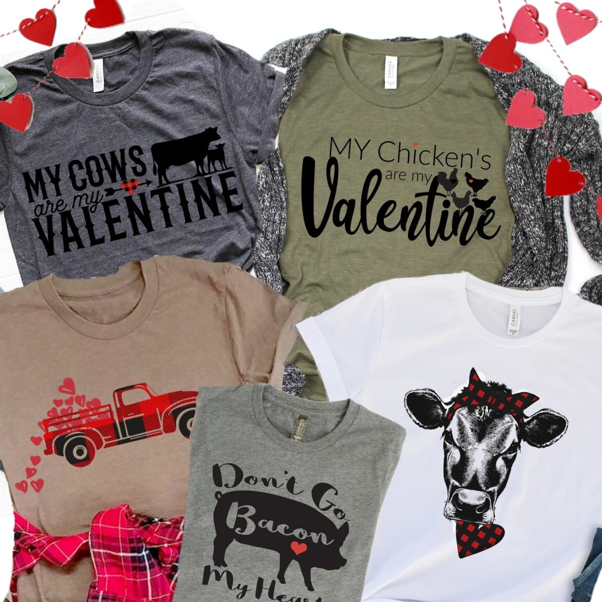 Fun Country Valentine Tees