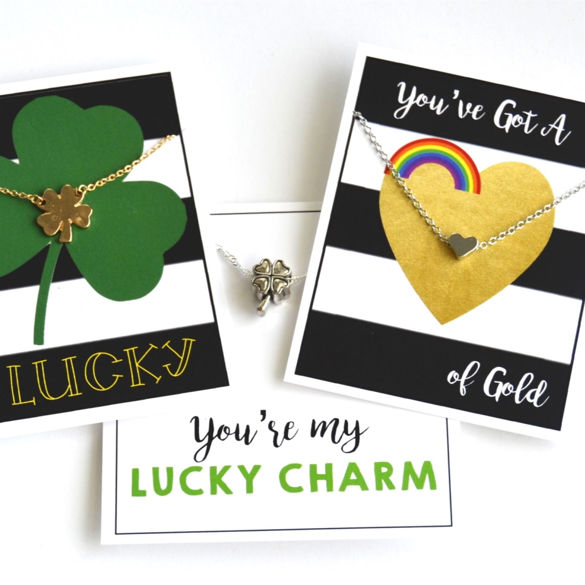 $3.99 (reg $10) Lucky Necklaces & Card
