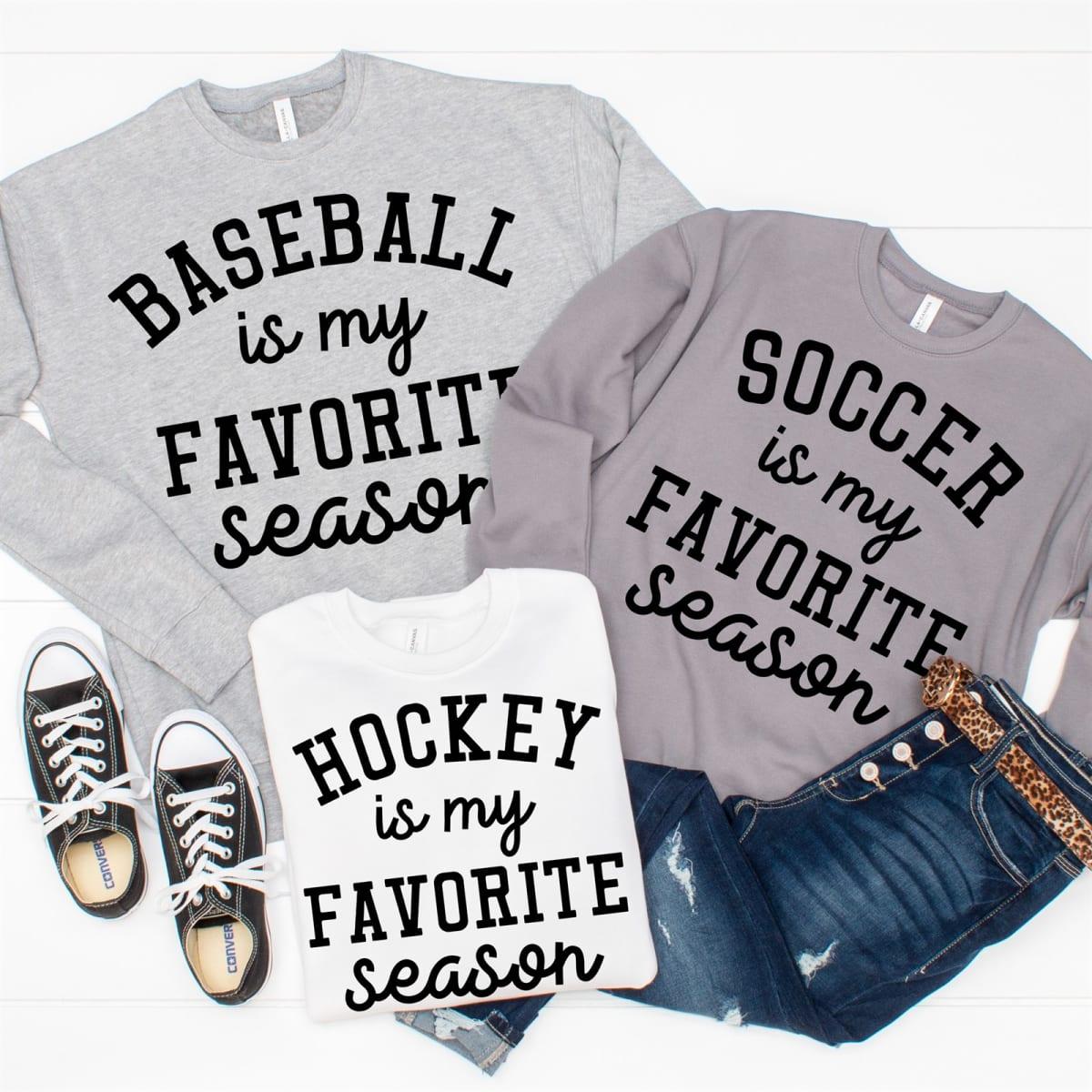 $25.98 (reg $47) Favorite Season Sweatshirts