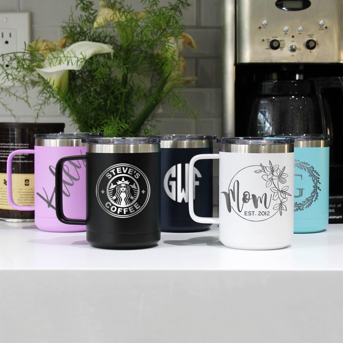 Personalized Stainless Steel Vacuum Insulated Mug