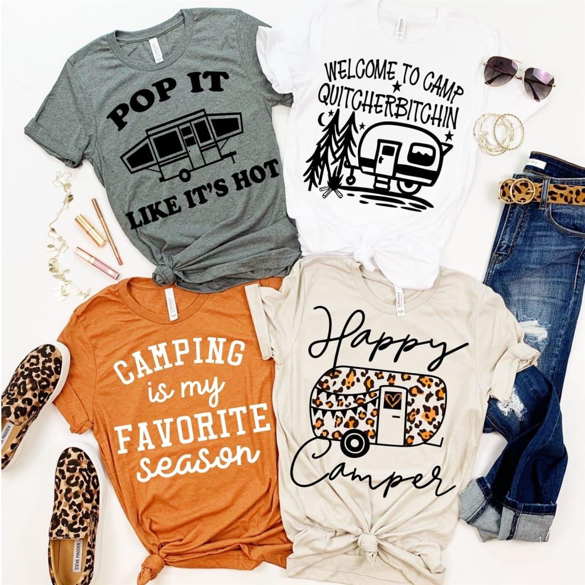 Happy Camper Tops