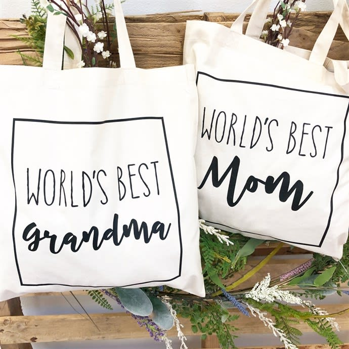 Personalized Mother's Day Bags