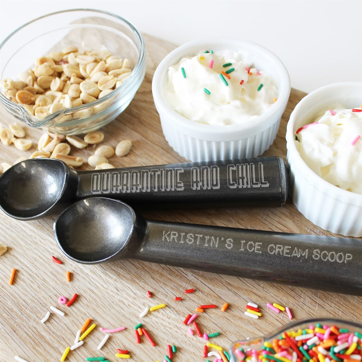 Personalized Engraved Ice Cream Scoop