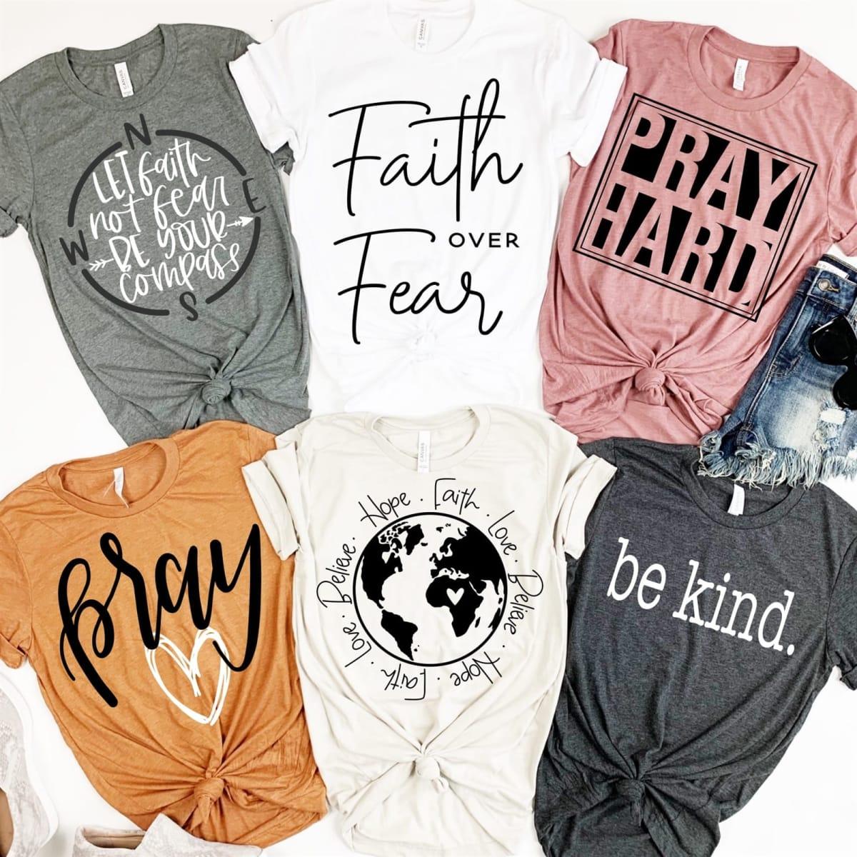 Faith & Encouragement Tees