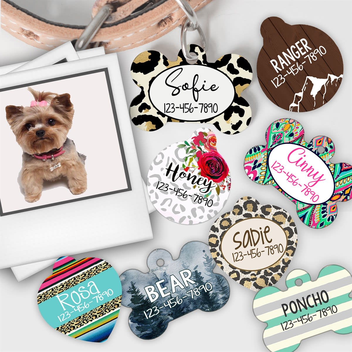 Personalized Pet Tag | 45 Designs