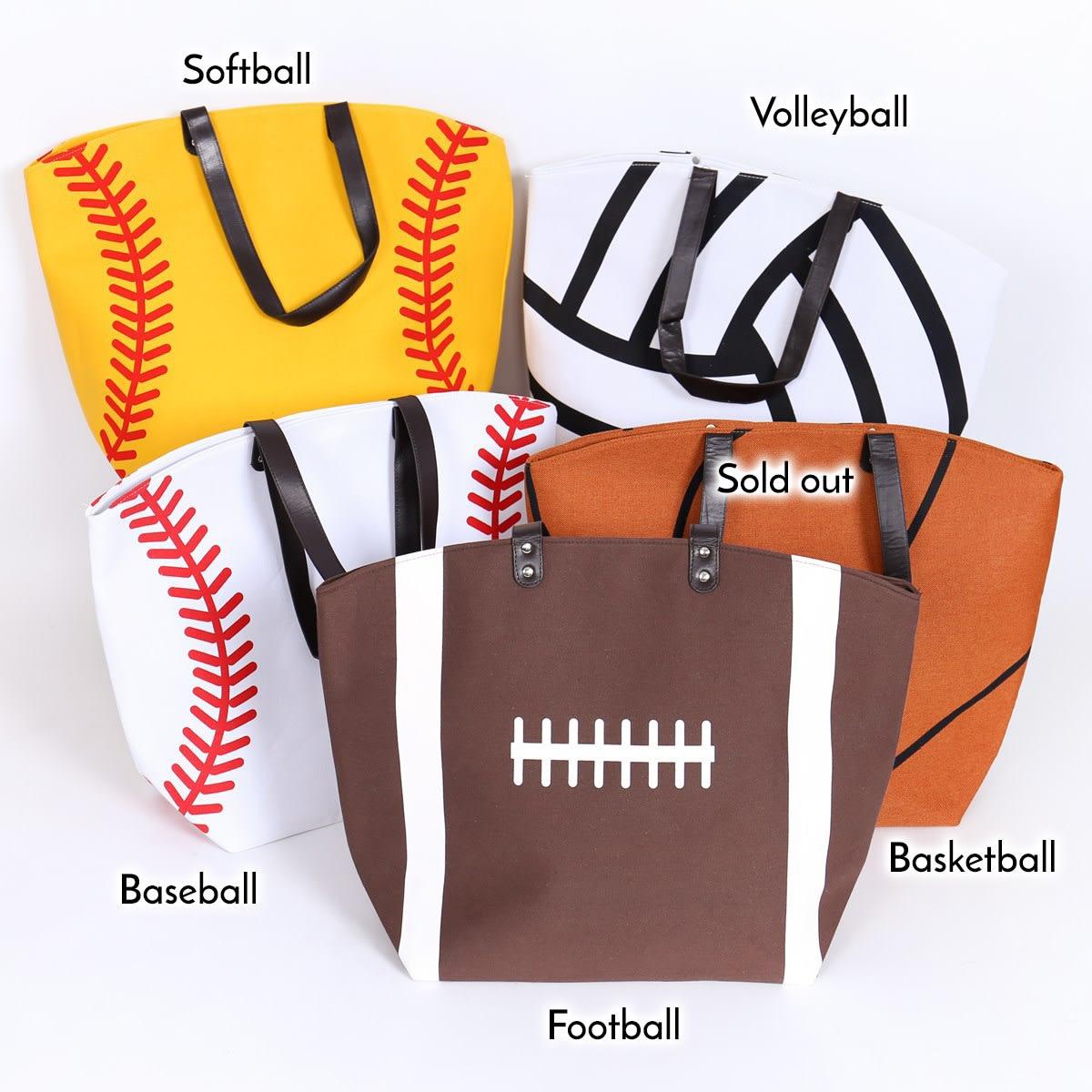 Oversize Sport Tote Bag