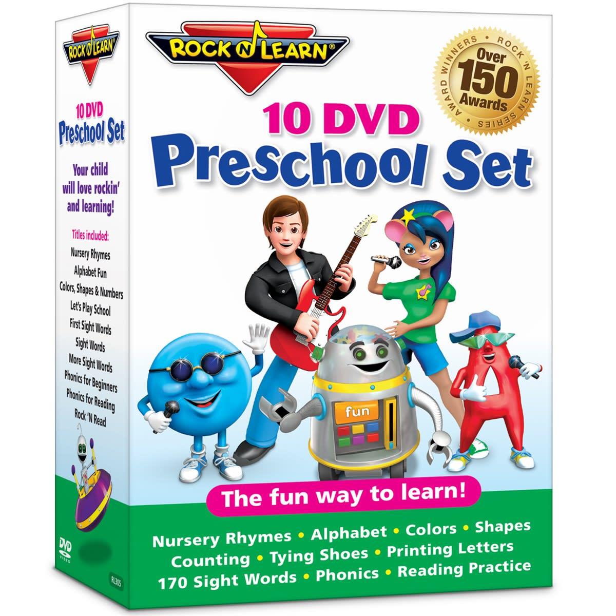 preschool learning dvds