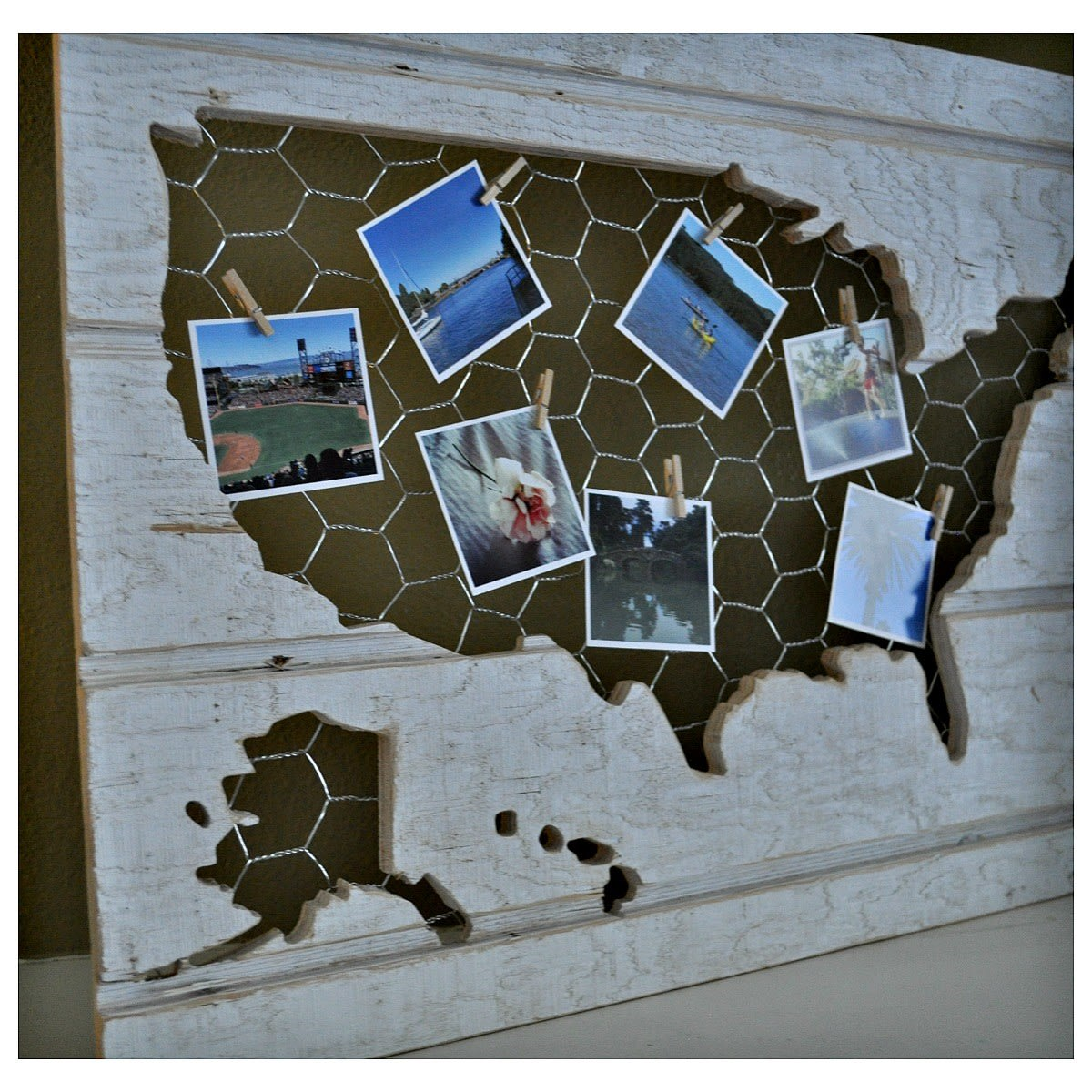 Shiplap and Chicken Wire US Map