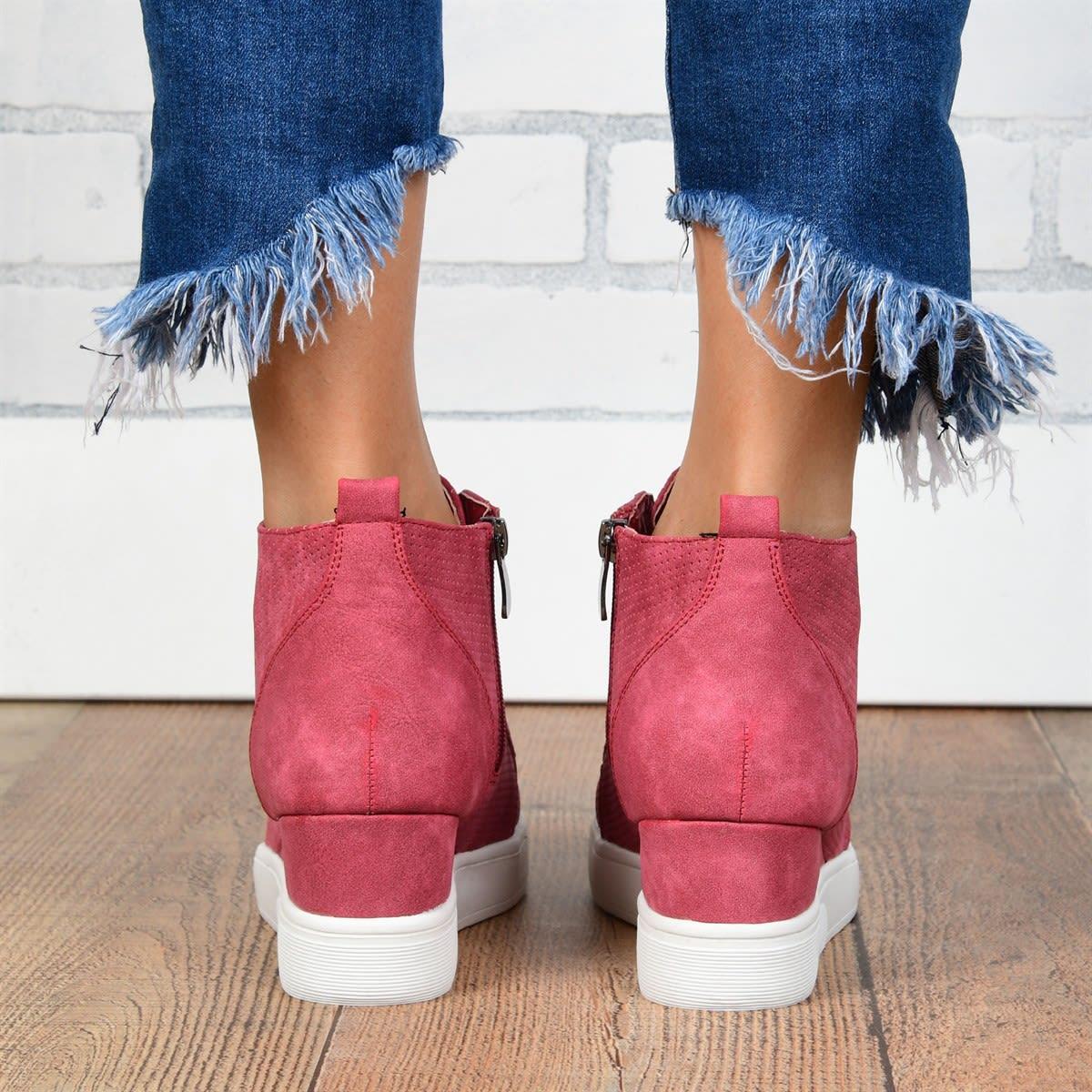 Chic Sneaker Wedges