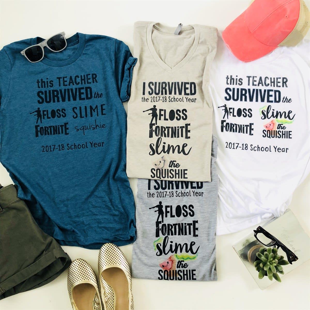 f1920594 I Survived 2017-18 Teacher Tee's | Jane