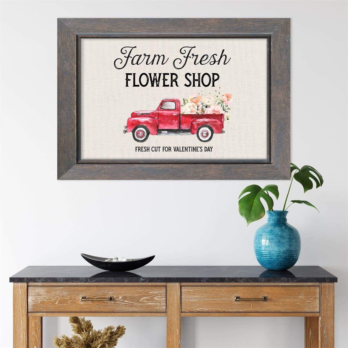 Farmhouse Valentine's Sign Prints