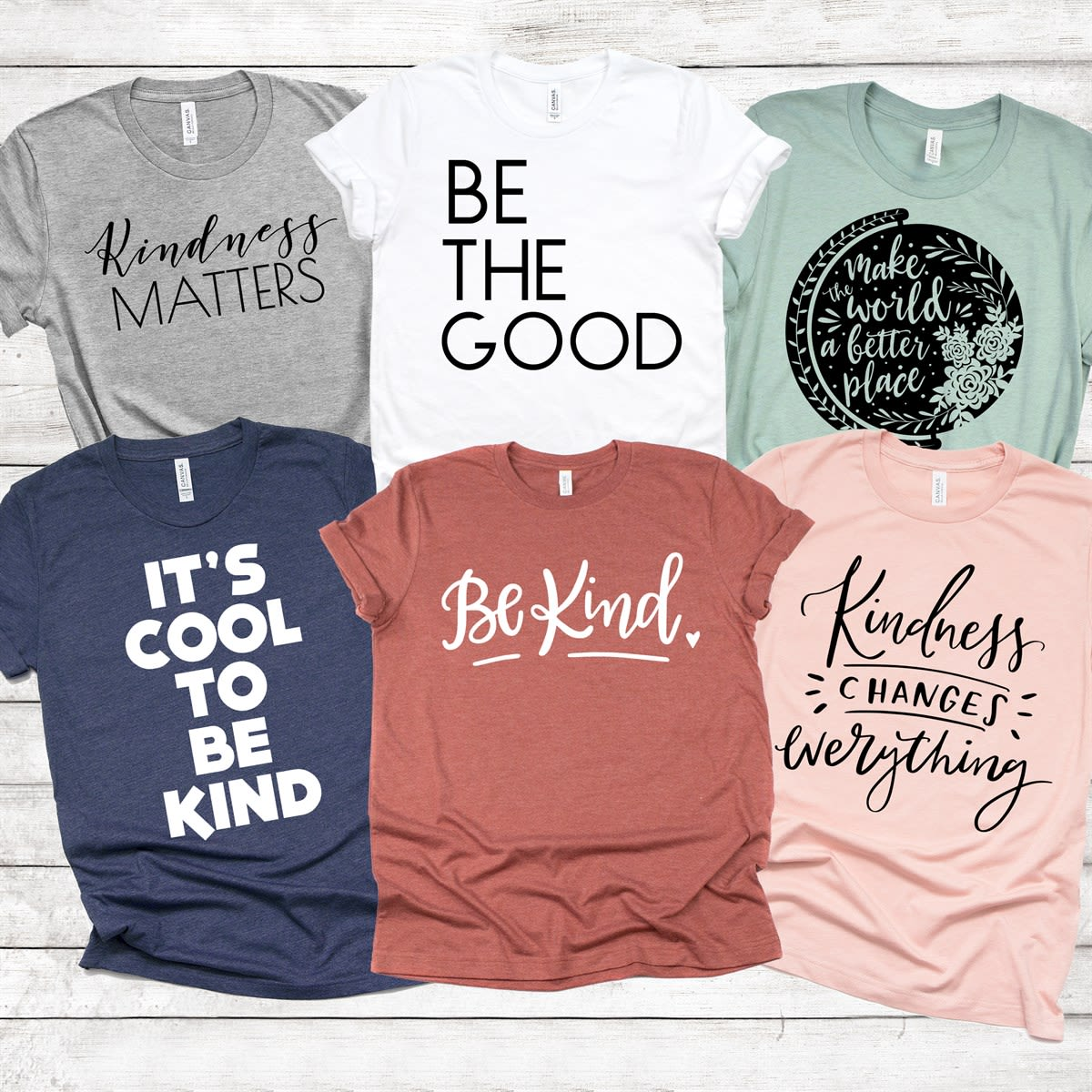 Make a Difference Tees