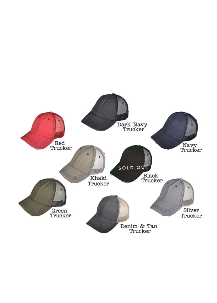 daf23886a54 State Trucker Home Hats
