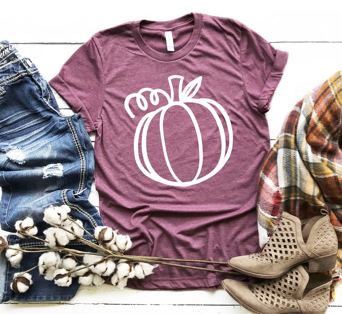 Country Fall Tees | 4 Designs