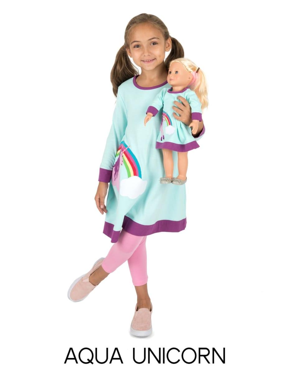 Girl & Doll Matching Dress
