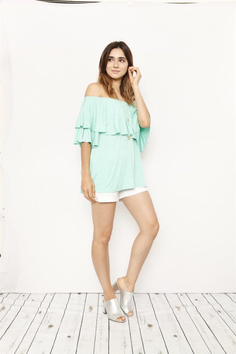 .99 Off Shoulder Tops with Free Shipping from Jane!