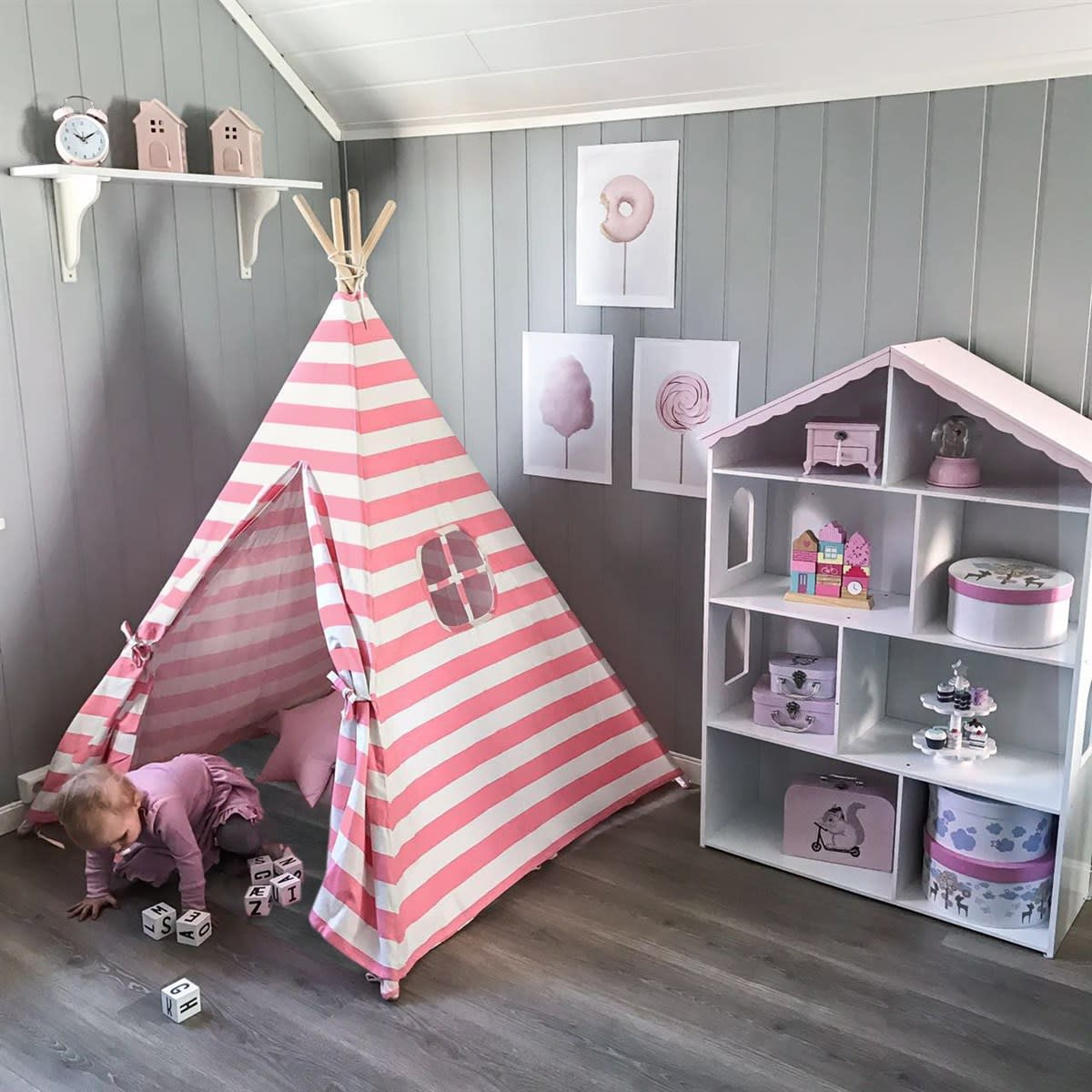 kids indoor teepee