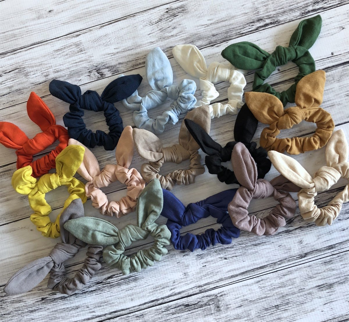 Knotted Bow Scrunchies | 80 Options