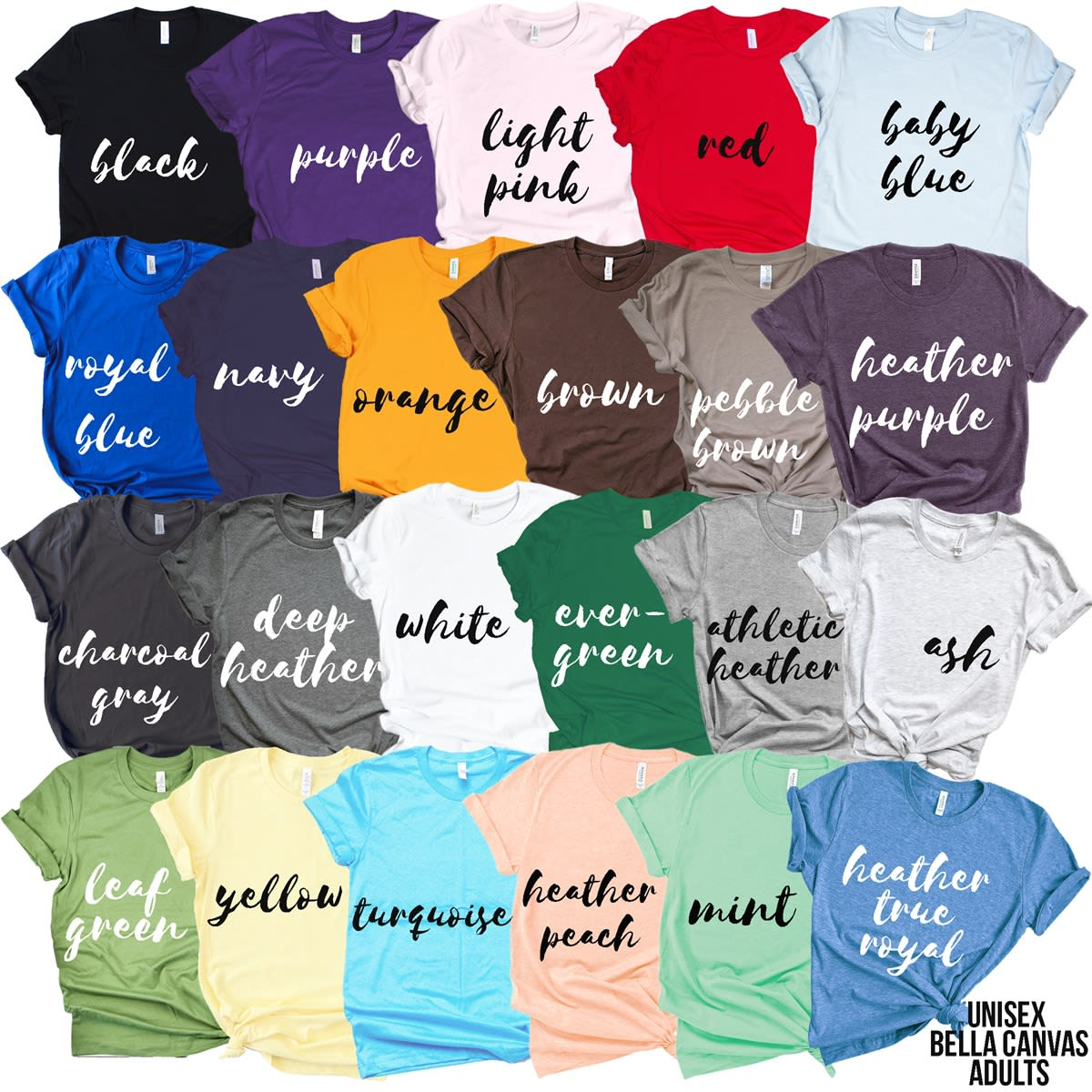 a2e6d268f Iconic State Bella Canvas Tees   Jane