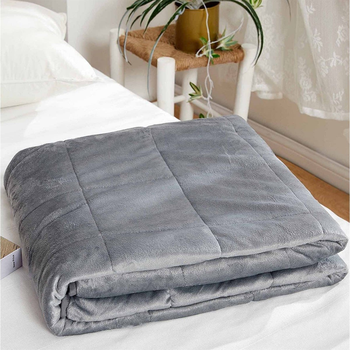 Flannel Mink Weighted Blanket