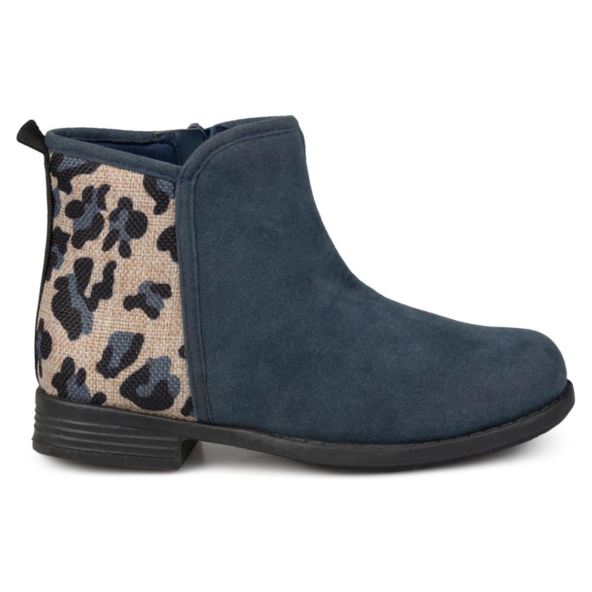 Kids Leopard Print Boots