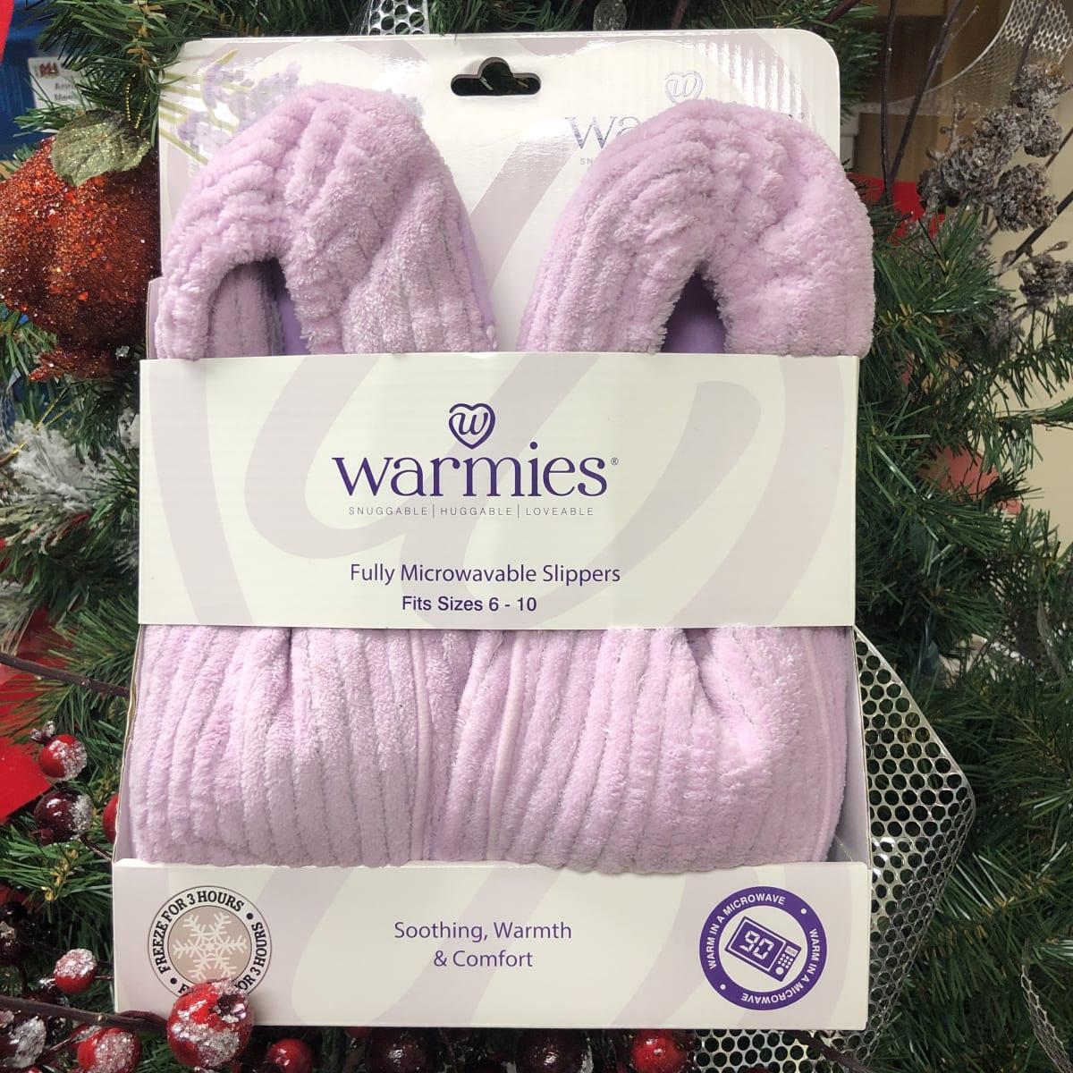 Oprah's Favorite Warmies Heatable Slippers