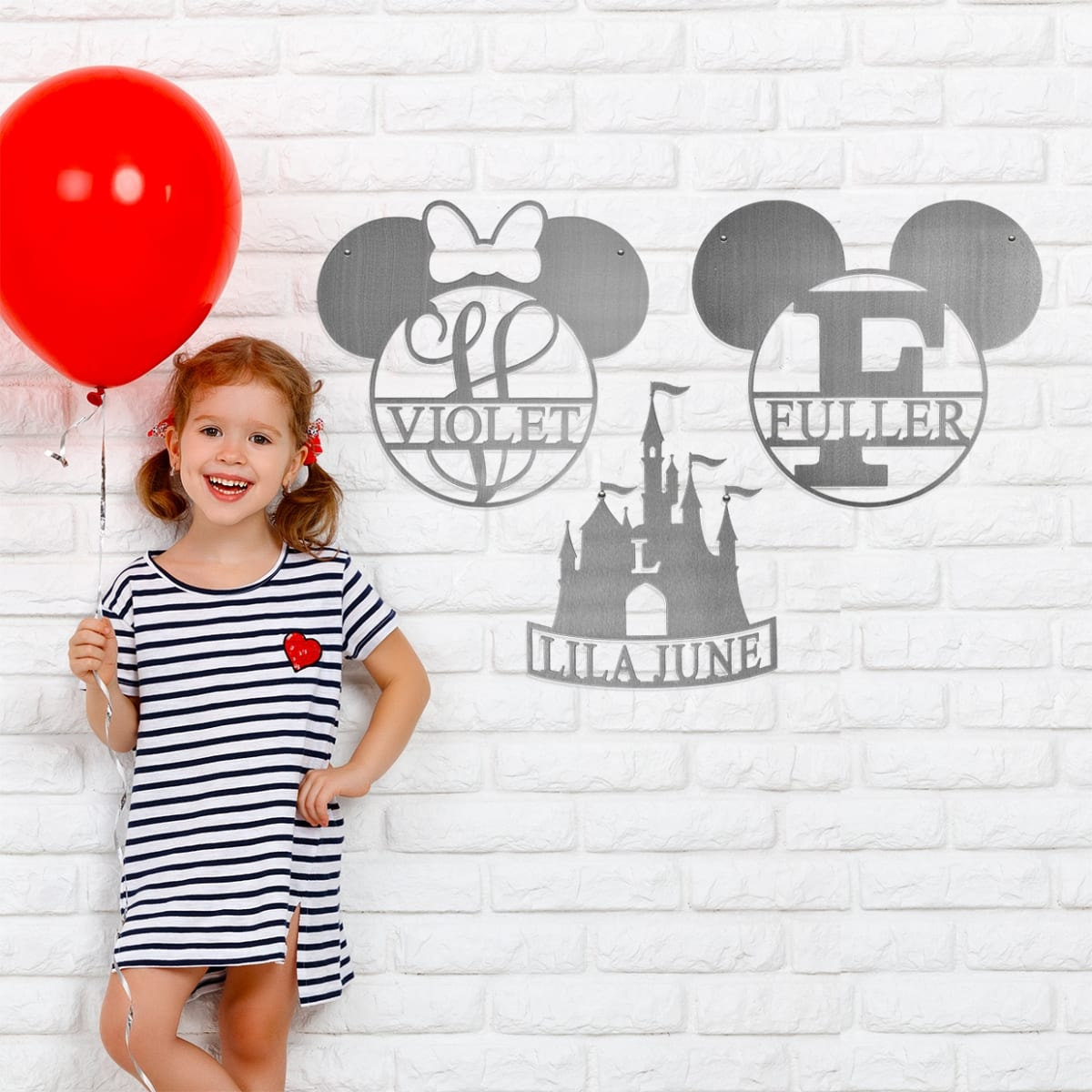 Mouse Ears and Castle Monograms