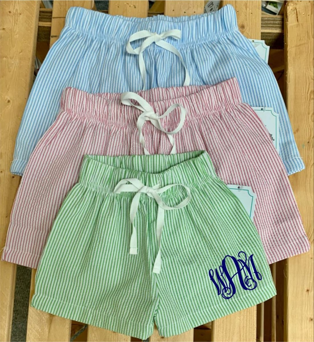 .99 + Free Shipping from Jane | Kids Seersucker Drawstring Shorts