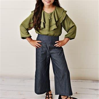 Girls Ruffle Pant Sets | Jane