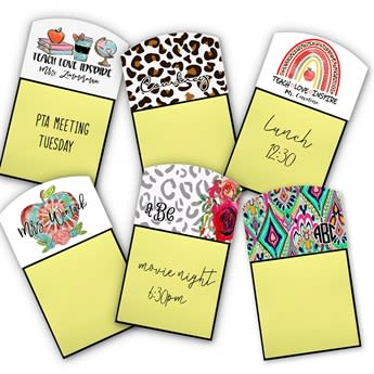 Personalized Sticky Note Holder Jane