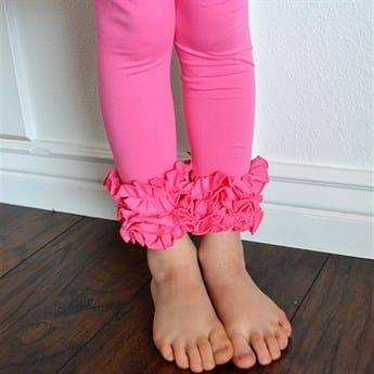 Women/'s Ruffle Pants Plus Sized Capri One Ruffle Pants Solid colors Mama Ruffles -Elastic waist