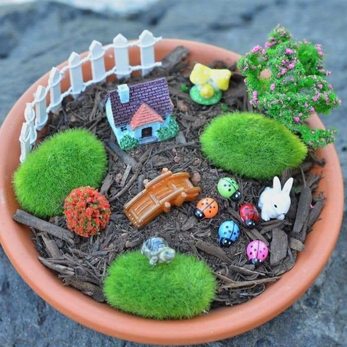 Fairy Garden Kit 21+ Pieces