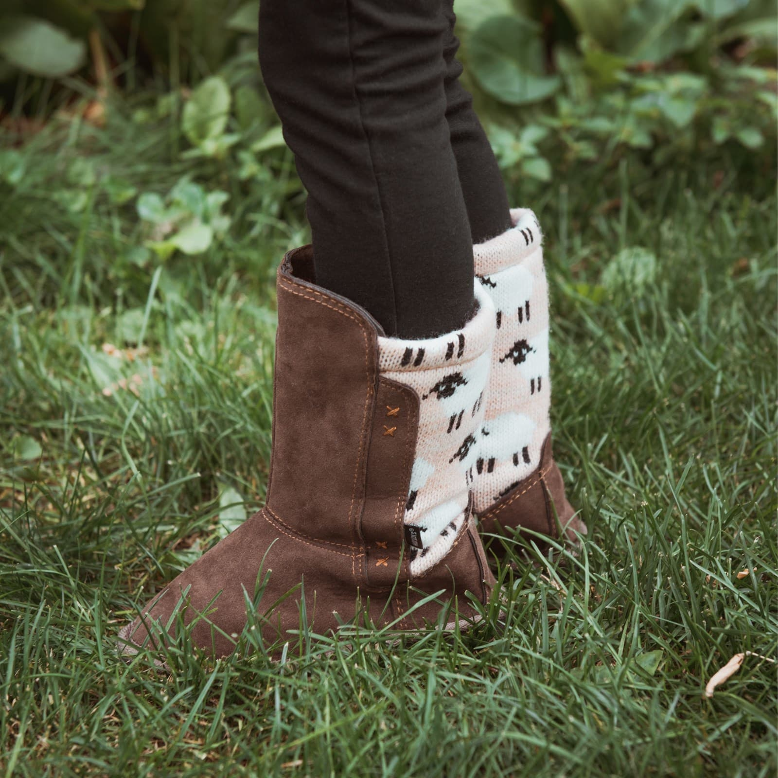 Muk Luks Girls Stacy Boots