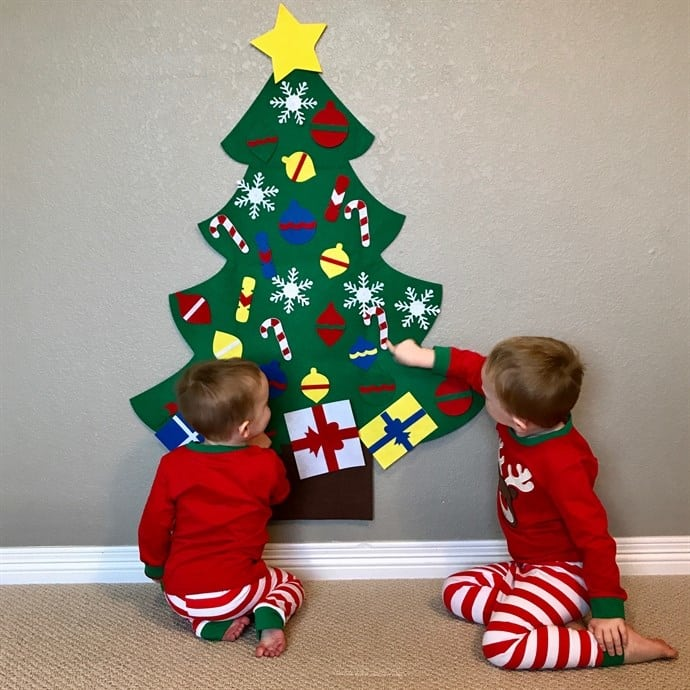 Kids Decorative Felt Tree