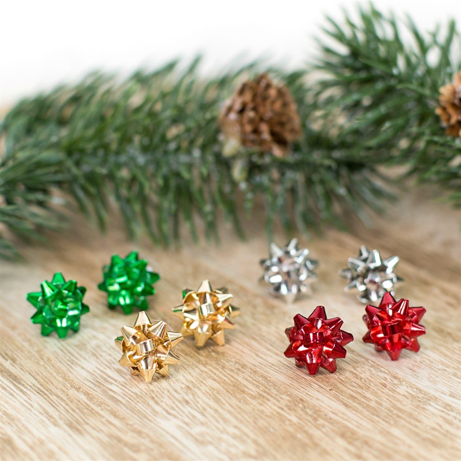 Christmas Bow Earrings   4 Colors   Jane