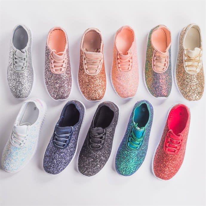 Glitter Sneakers (Multiple Color)