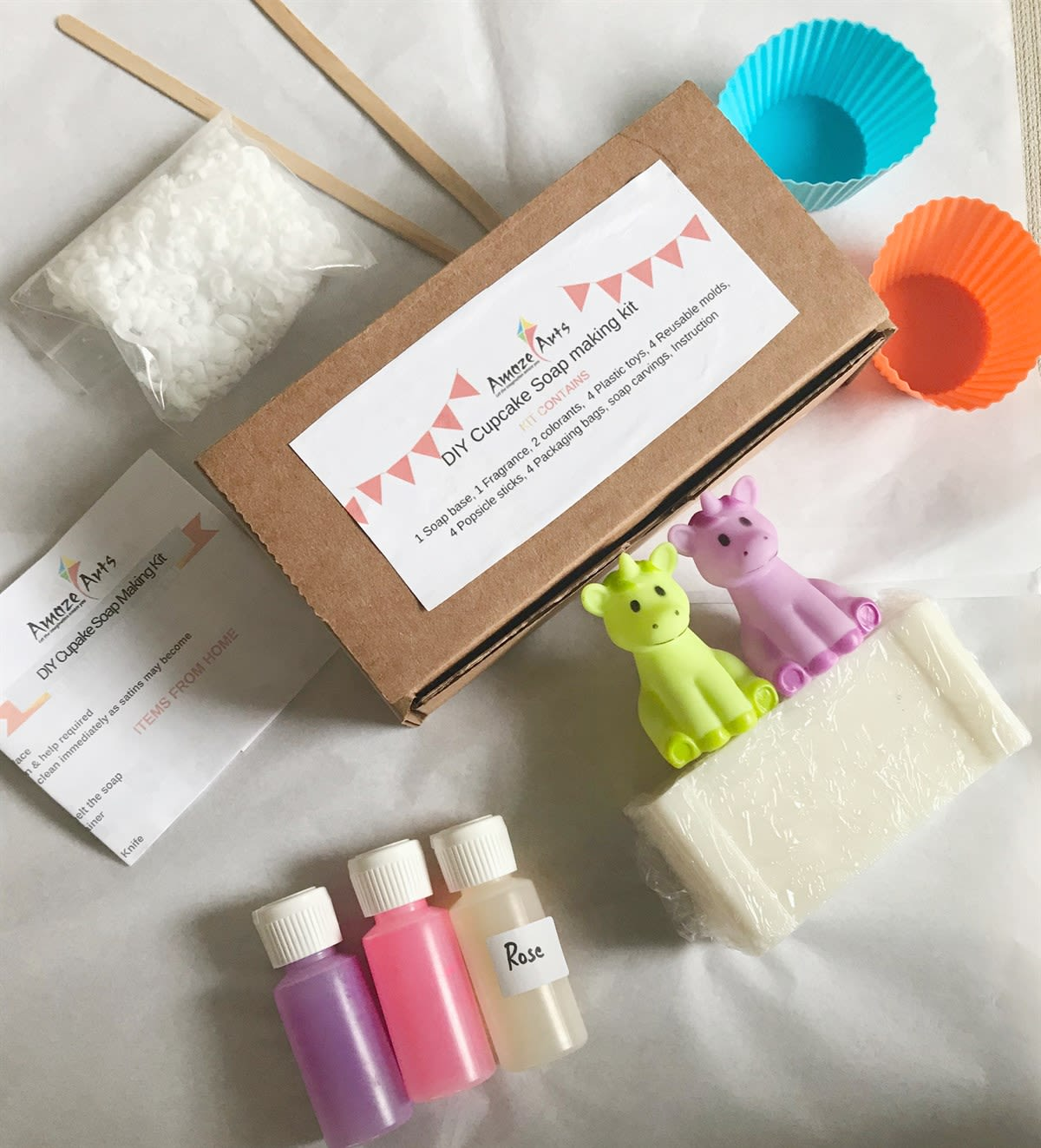 Diy Soap Making Kit Makes 2 Soaps Jane