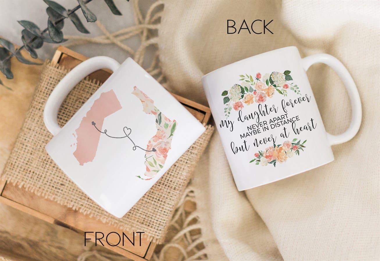 Personalized Long Distance State Mug | Jane