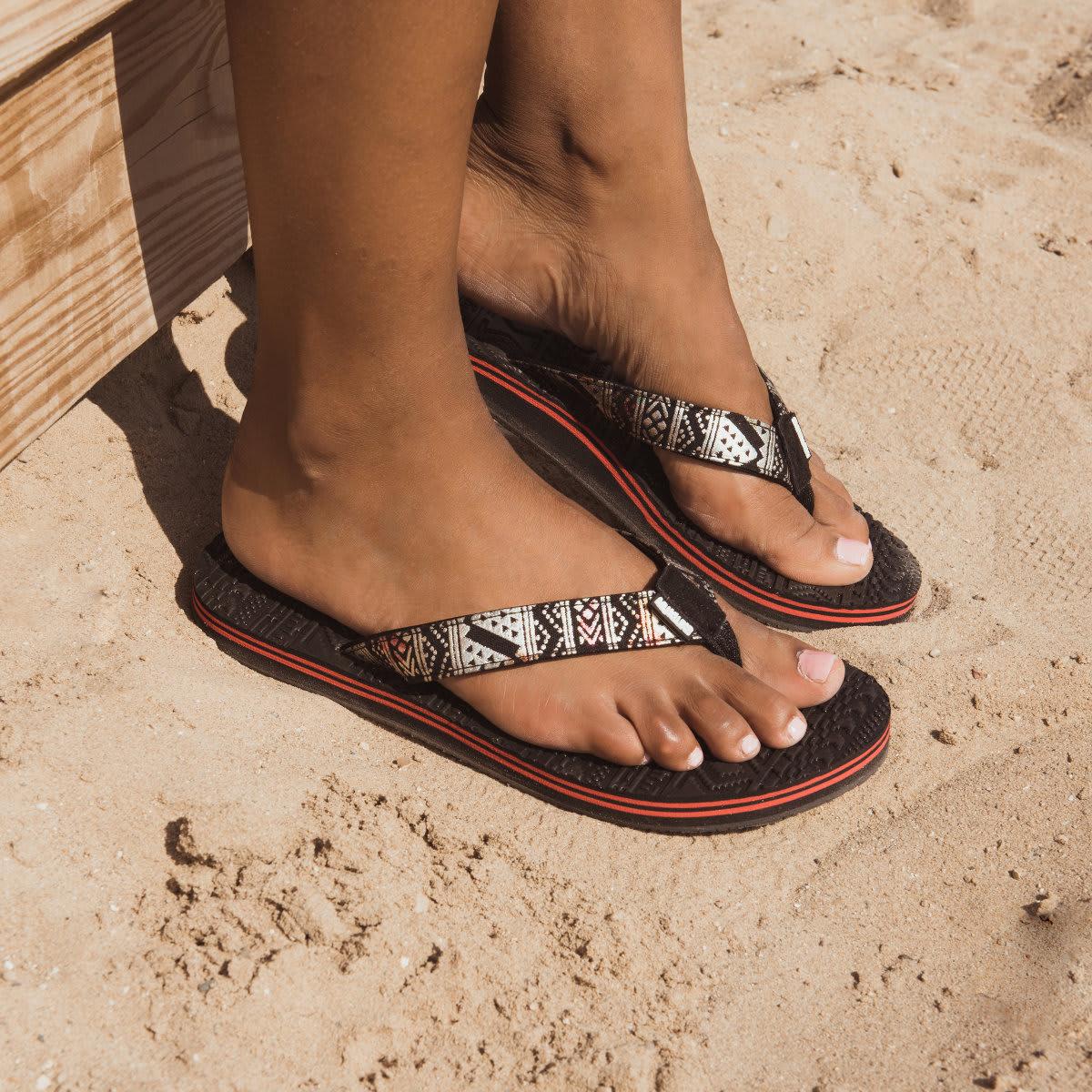33c8f8abd023 MUK LUKS ® Emma Flip Flops just  14.99 + FREE Shipping! 4 Styles