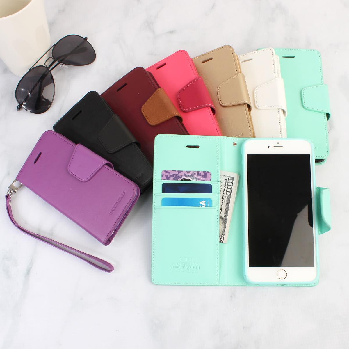 The Classic Diary Case for Cellphone