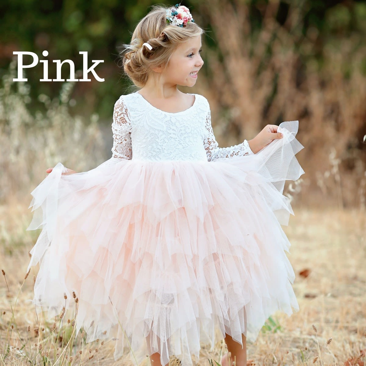 Girls Lace Tulle Dresses So Darling
