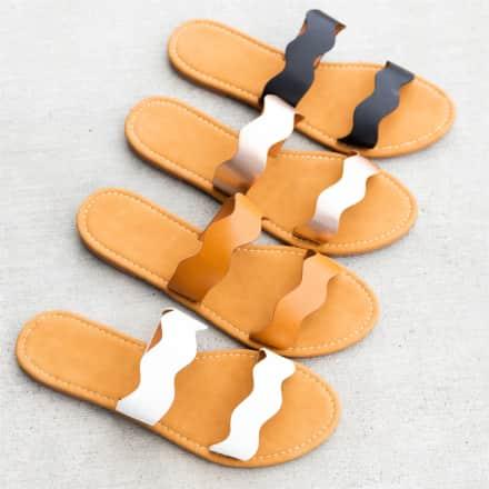 Scalloped Comfy Sole Flats