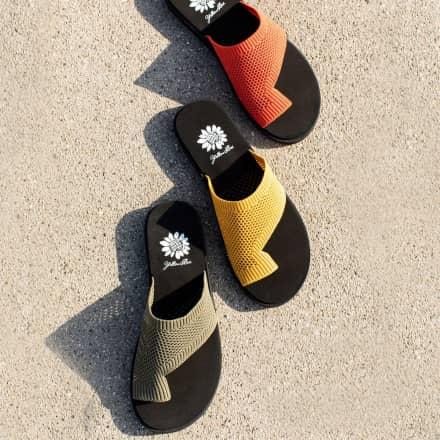 Yellow Box Weekend Flip Flops