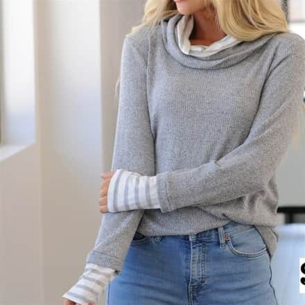 Cowl Neck Pullover Collection
