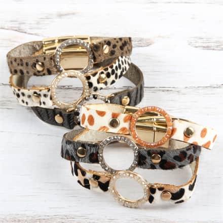 Genuine Leather Wrap Bracelet