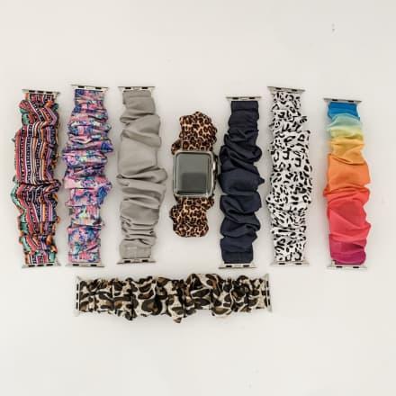 Scrunchie Watch Bands