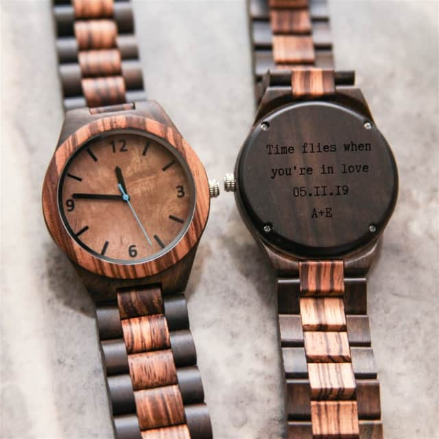 Personalized Wood Watches
